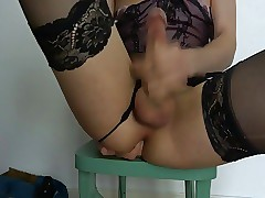 gay men in lingerie porn